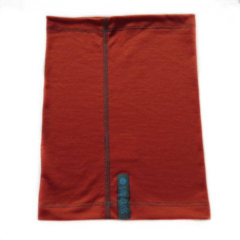 NEW! Rust Merino Wool Neck Gaiter