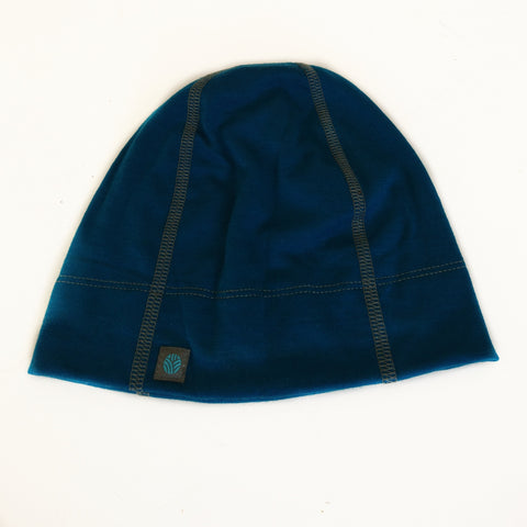 Adults Peacock Merino Wool Beanie