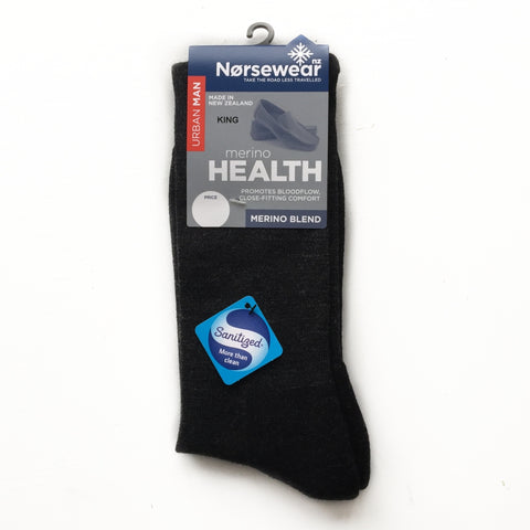 Merino Wool Mens Health Socks