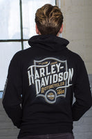 Chi-Town Harley-Davidson® Men's Cling Zip-Up Hoodie