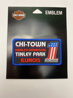 Chi-Town Harley-Davidson® Custom Retro Patch