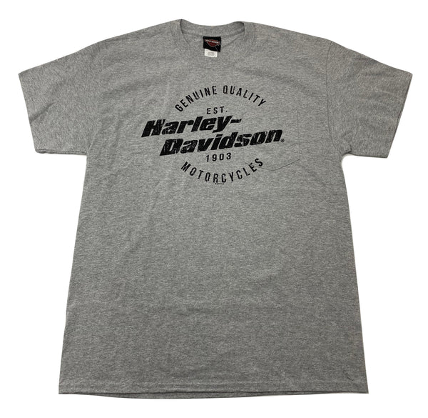 Chi-Town Harley-Davidson® Men's Distressed T-Shirt