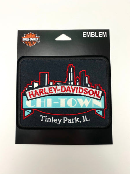 Chi-Town Harley-Davidson® Custom Embroidered Logo Patch