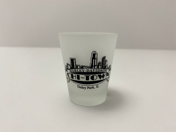 Chi-Town Harley-Davidson® 1.5oz Frosted Short Shot Glass