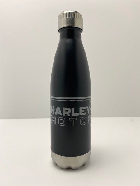 17oz - Harley-Davidson® Lineation Stainless Steel Travel Bottle