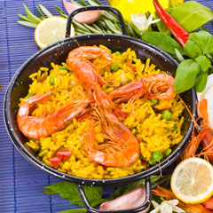 Shrimp with Spanish Rice