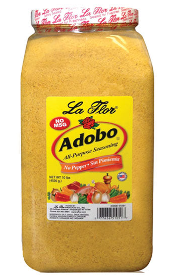 Adobo With No Pepper - Institutional