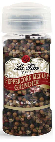 Black Pepper Grinder - Peppercorn Medley