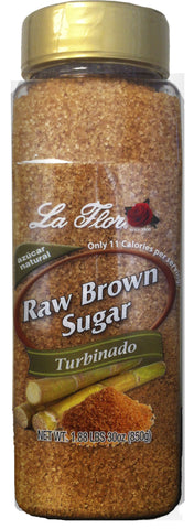 Raw Brown Sugar (Turbinado)- Jumbo Size