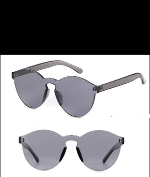 Fashion Sunglasses-Transparent Black