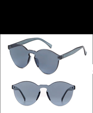 Fashion Sunglasses- Silver Solid