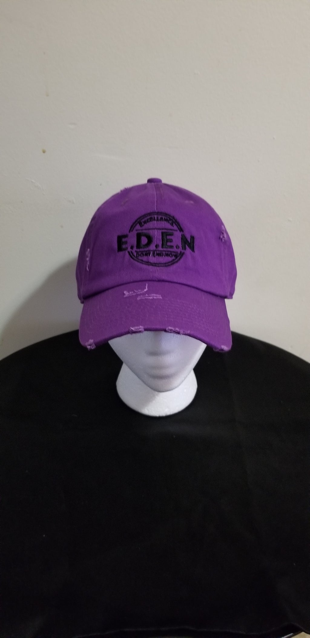 Dad Hats-Purple (Eden Logo)