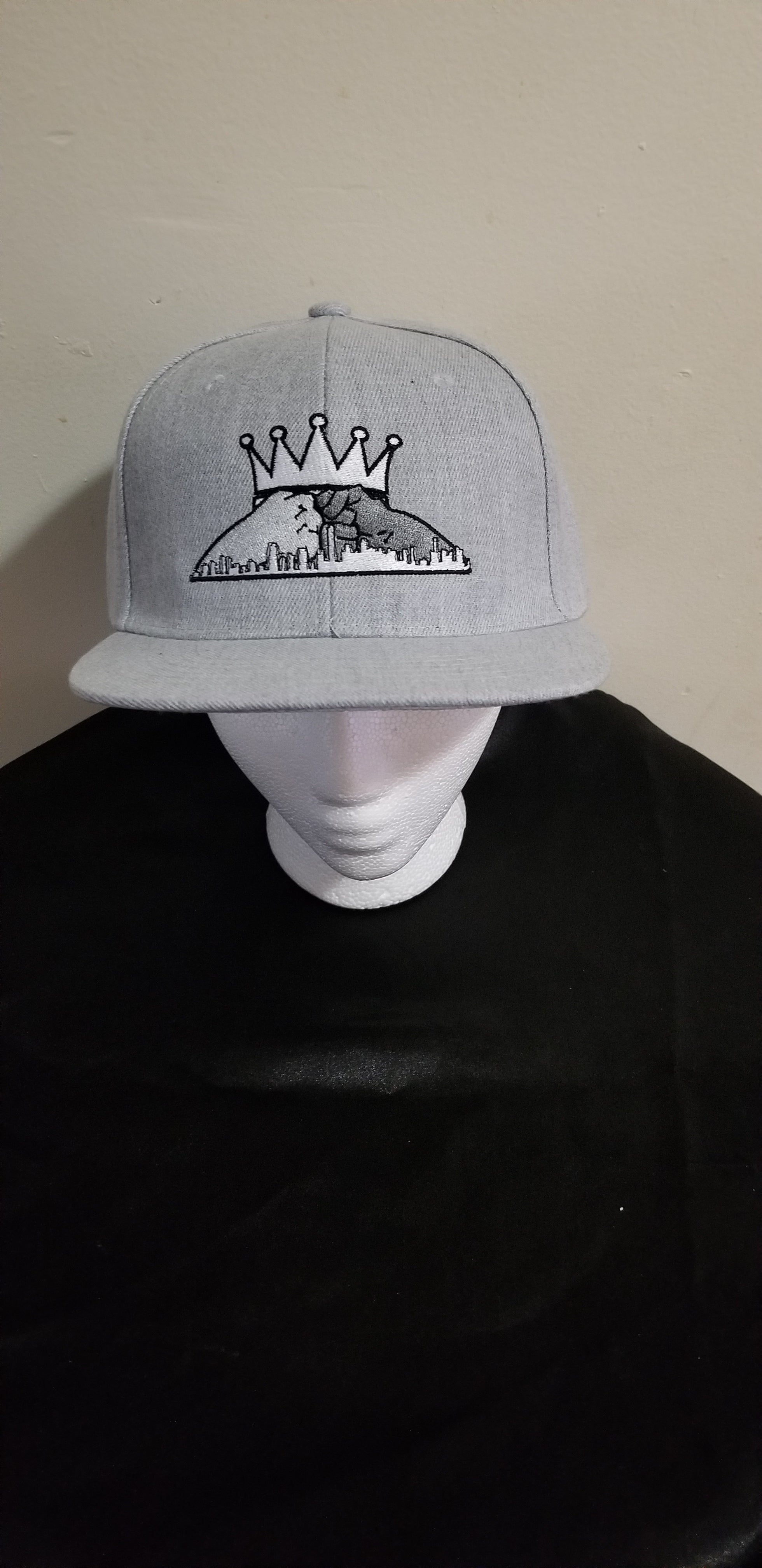Snapback Hat- Gray (Let's Build Together)