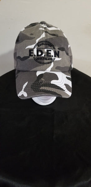 Dad Hats- Black  (Eden Logo)