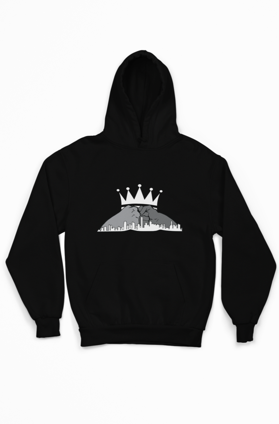 Let's Build Together Hoodie- White Crown
