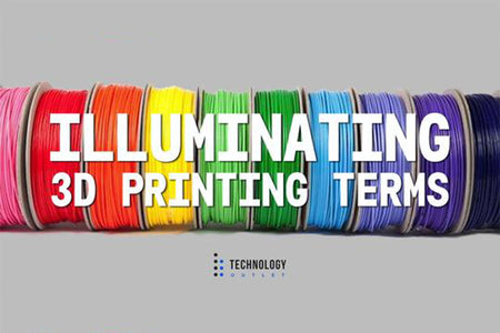 3D Printing Terms Illuminated – Part 1