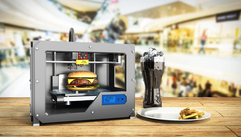 Potential to 3D print your own food in the future