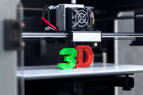 '3D' printed by a 3D Printer