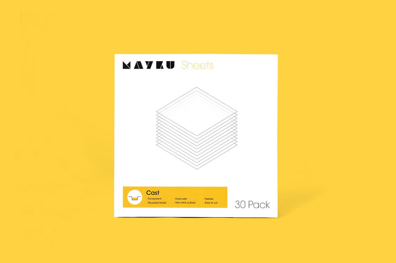 Mayku FormBox Vacuum Forming and Casting Sheets (30 Pack)
