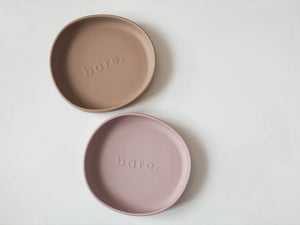 Blush Irregular Suction Plate