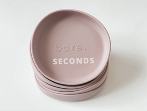 SECONDS Blush Irregular Suction Plate