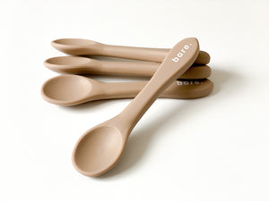 Latte Silicone Spoon