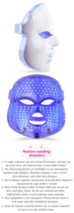 7 Colors Led Facial Rehabilitation Mask