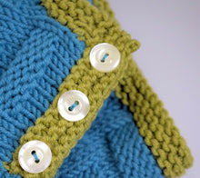 Load image into Gallery viewer, Baby sweater knitting pattern