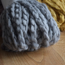Load image into Gallery viewer, Knit-One-Kits-knitted-snood-kit-Katia-Nube-54-pale-grey