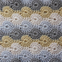 Load image into Gallery viewer, Knit One Kits Crochet cushion cover kit - colourway Saffron