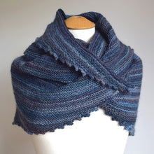 Load image into Gallery viewer, NEW Garter stitch shawl