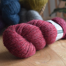 Load image into Gallery viewer, Knit One kits finger less mitts knitting kits Erika Knight Wild Wool colour Tramp