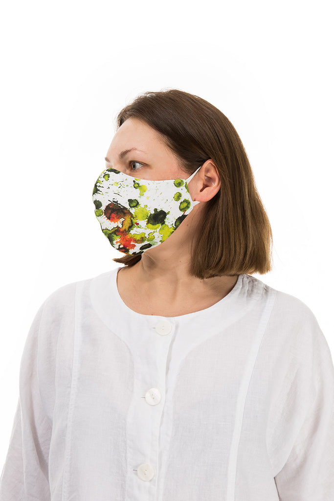Reusable Printed Protective Masks 10 Pcs
