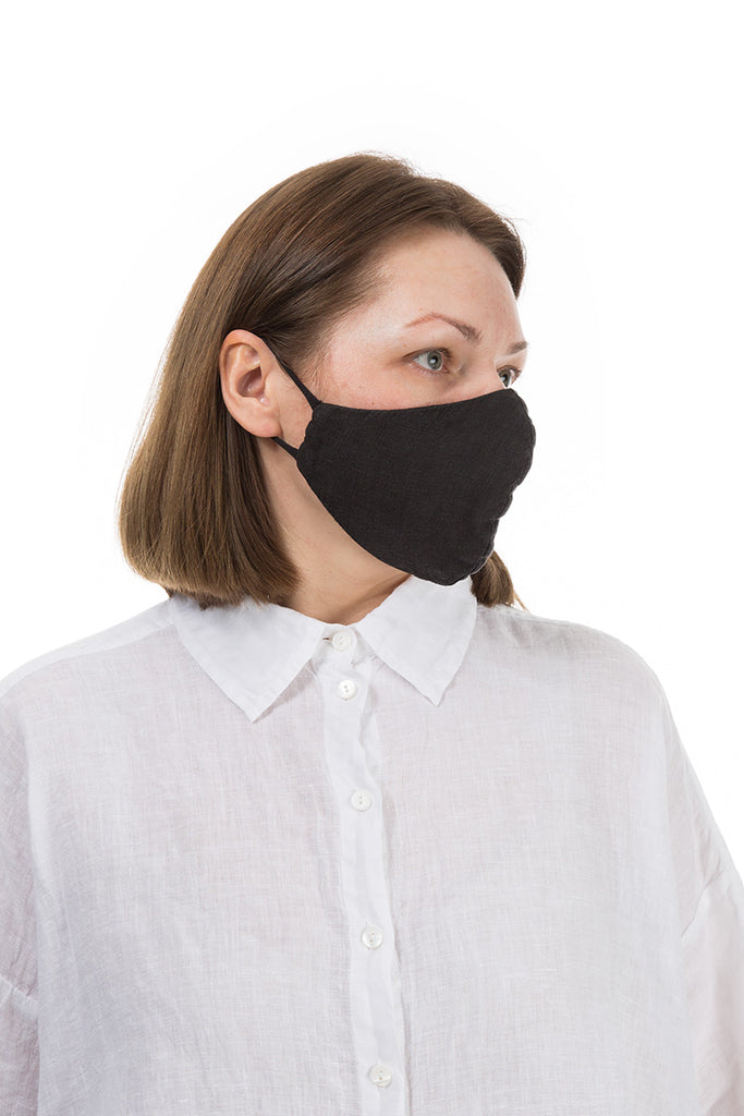 Reusable Black Protective Masks 10 Pcs
