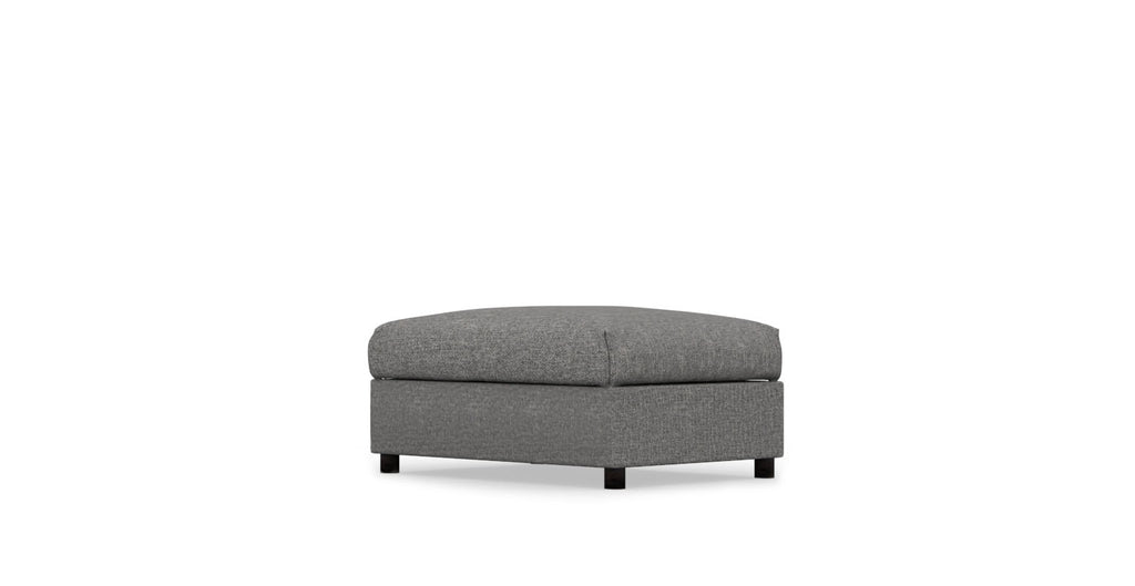 VIMLE IKEA Ottoman Cover - Heavy Duty Anthracite