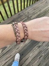 Load image into Gallery viewer, BRAIDED WRAP BRACELET