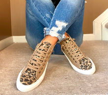 Load image into Gallery viewer, LOU LEOPARD HIGH TOP SNEAKERS