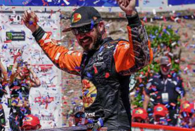 Truex wins at Sonoma for second straight year