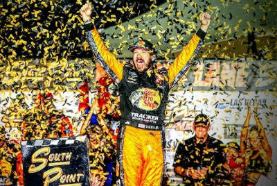 Truex Jr. captures victory in playoff opener at Las Vegas