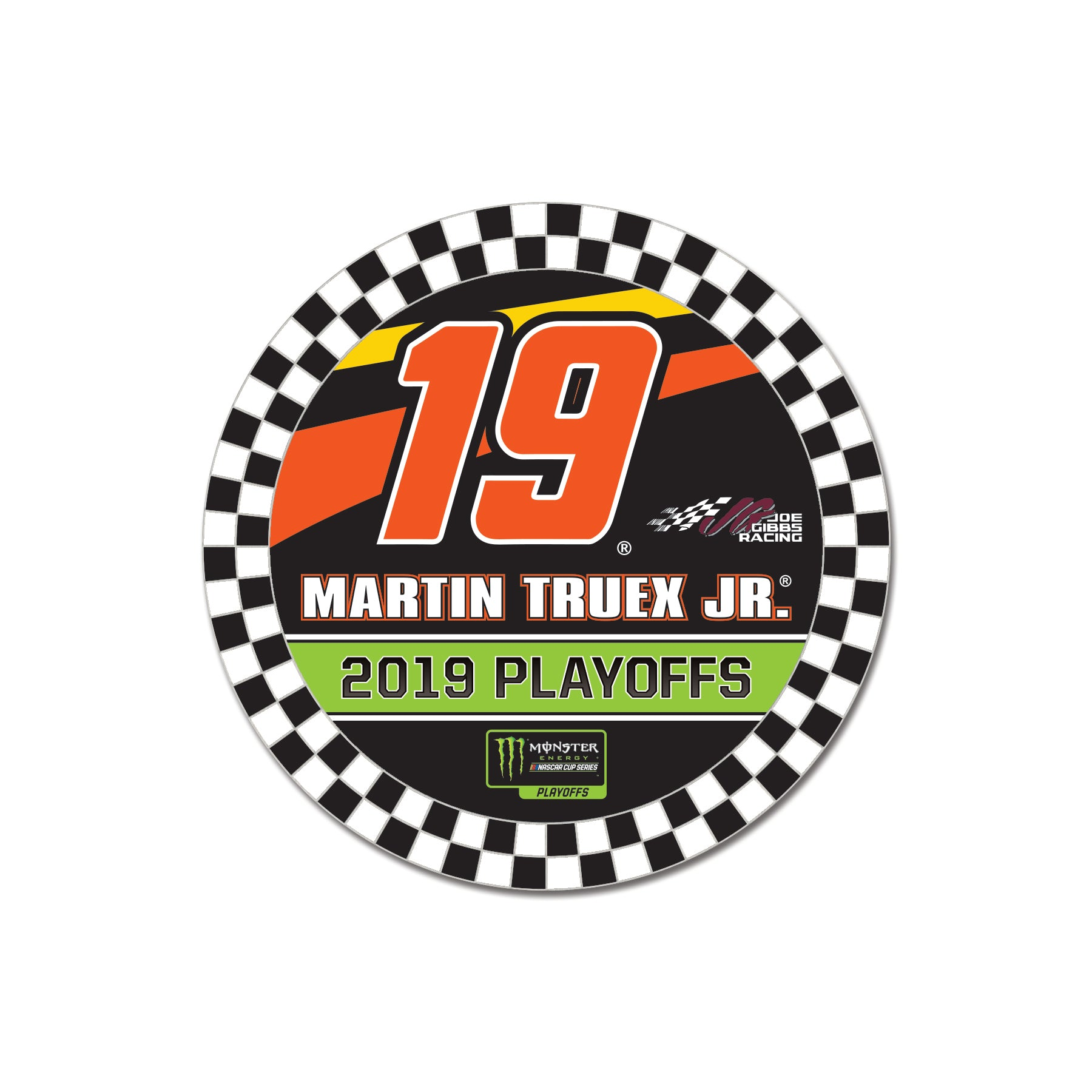Martin Truex  Jr. MENCS Play Off Collector Pin - martin-truex-jr-retail-store