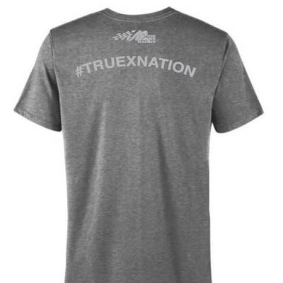 #19 Truex Jr. Gray Short Sleeve Tee