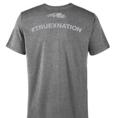#19 Truex Jr. Gray Short Sleeve Tee (3XL available)