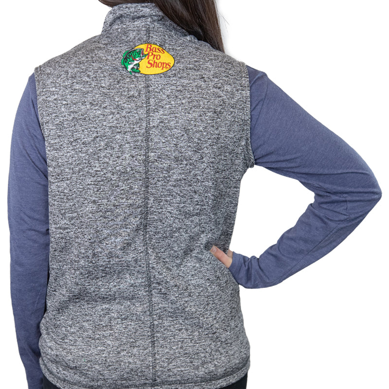 #19 Martin Truex Jr. Bass Pro Shops Ladies Fleece Vest (M, L, XL available) - martin-truex-jr-retail-store