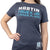 #19 Martin Truex Jr. Auto-Owners Insurance Ladies Blue Tee