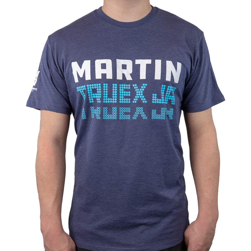 #19 Martin Truex Jr. Auto-Owners Insurance Men's Navy Tee