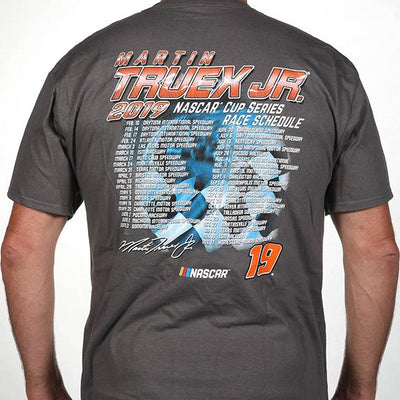 Martin Truex Jr. 2019 Schedule Tee (L & 2XL left) - martin-truex-jr-retail-store