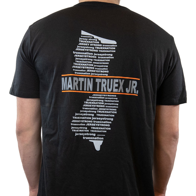 #19 Jersey Strong MTJ Motorsports Black (Large & 3XL) Tee (L, 3XL available)