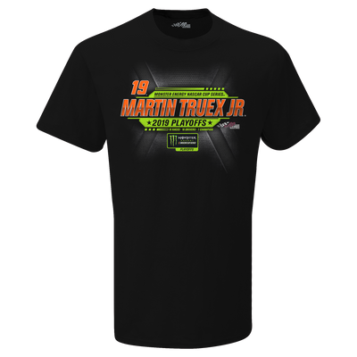 2019 Martin Truex Jr. Monster Energy NASCAR Cup Series Playoffs Tee - Martin Truex Jr. Retail Store