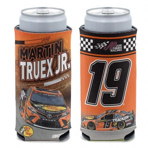 #19 Martin Truex Jr. 12 oz. Slim Can Cooler