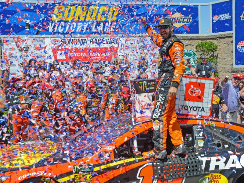 *PRE-ORDER* 2019 Autographed Sonoma Race Win 1:24 Scale Diecast